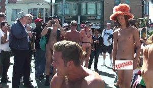 NUDE IN / BODY FREEDOM PARADE in San Francisco on September 26th, 2015